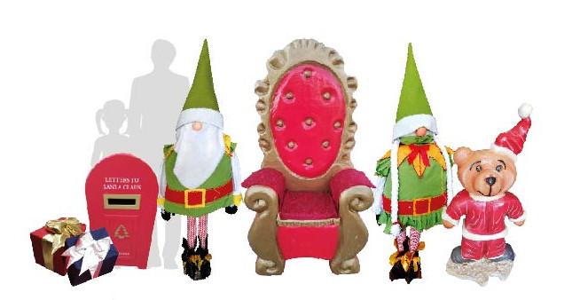 Scenografia Casa di Babbo Natale