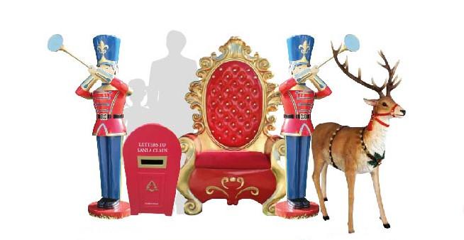 noleggio addobbi natalizi Brescia