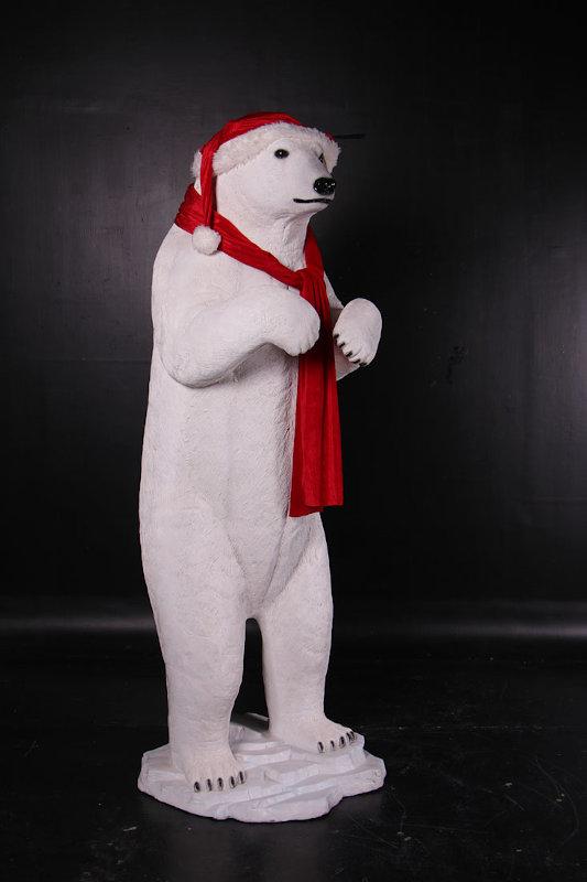 Statua Orso Bianco