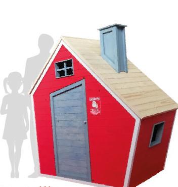 casa big rossa grande