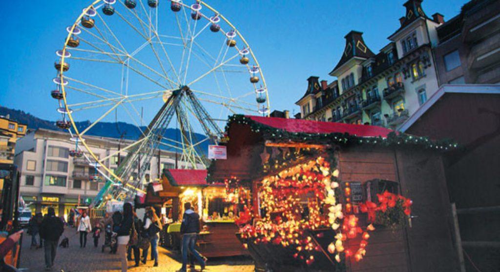 mercatini di natale Montreux