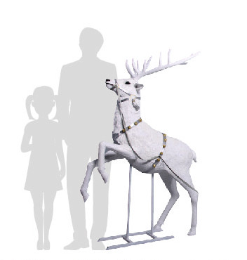 renna natalizia grande