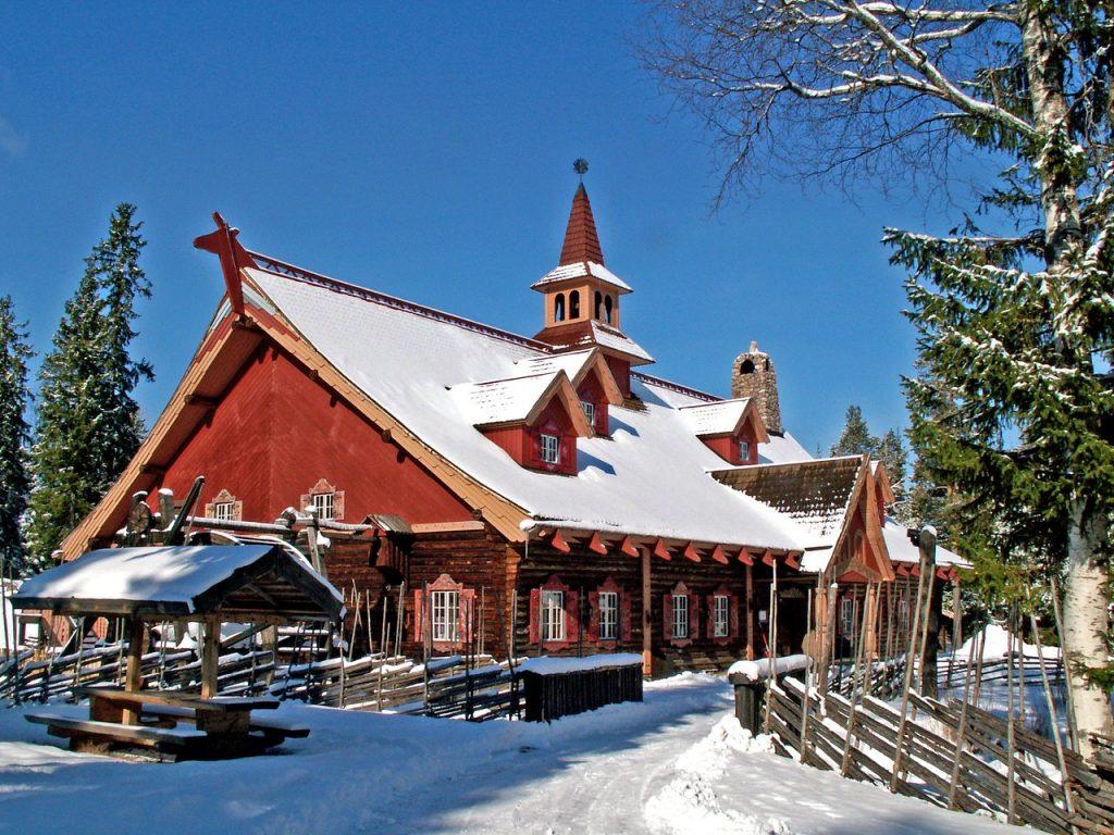 villaggio di Moro Svezia